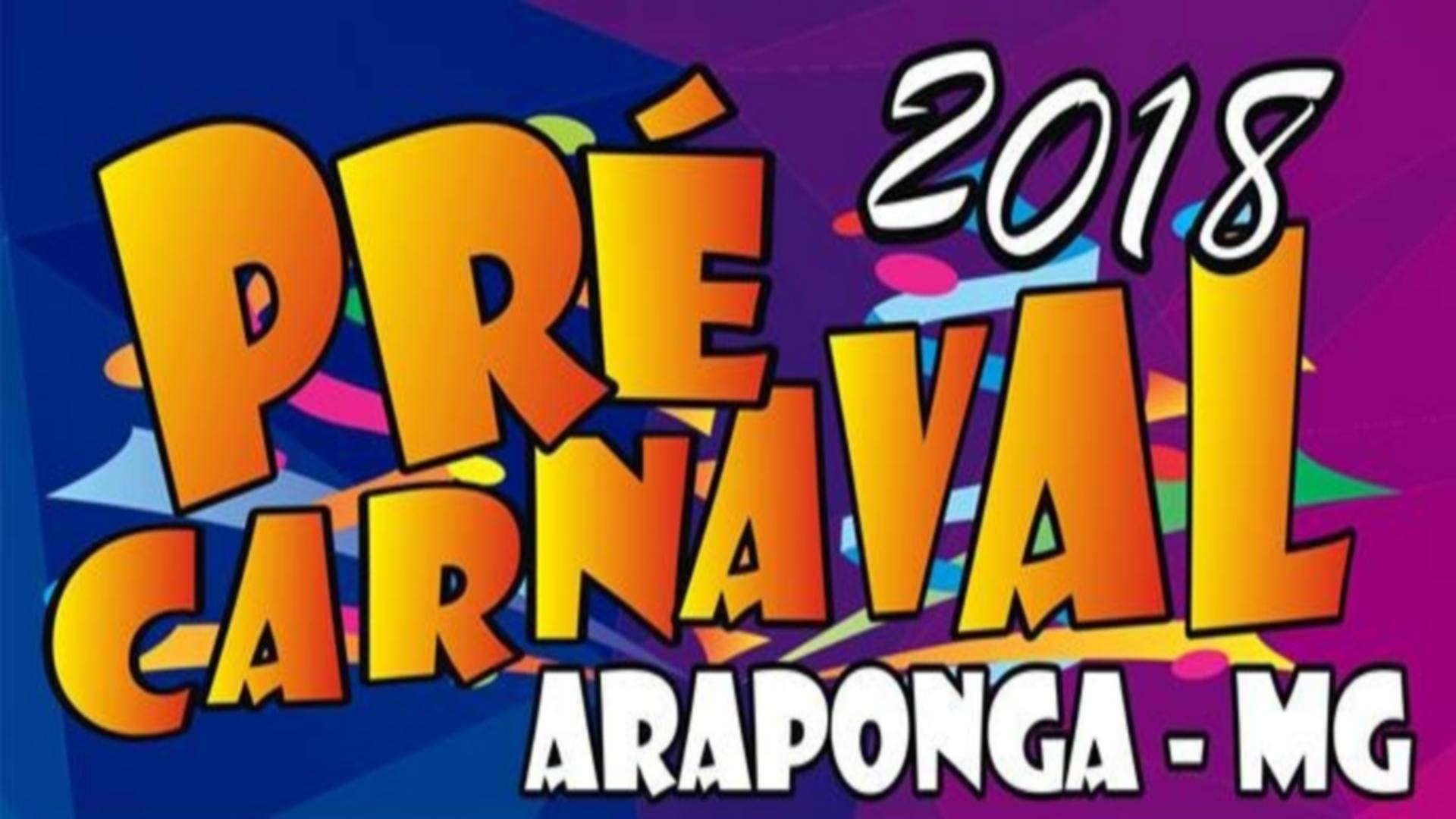 ARAPONGA EM CLIMA DE FESTA … VEM AÍÍ O PRÉ CARNAVAL 2018 !!