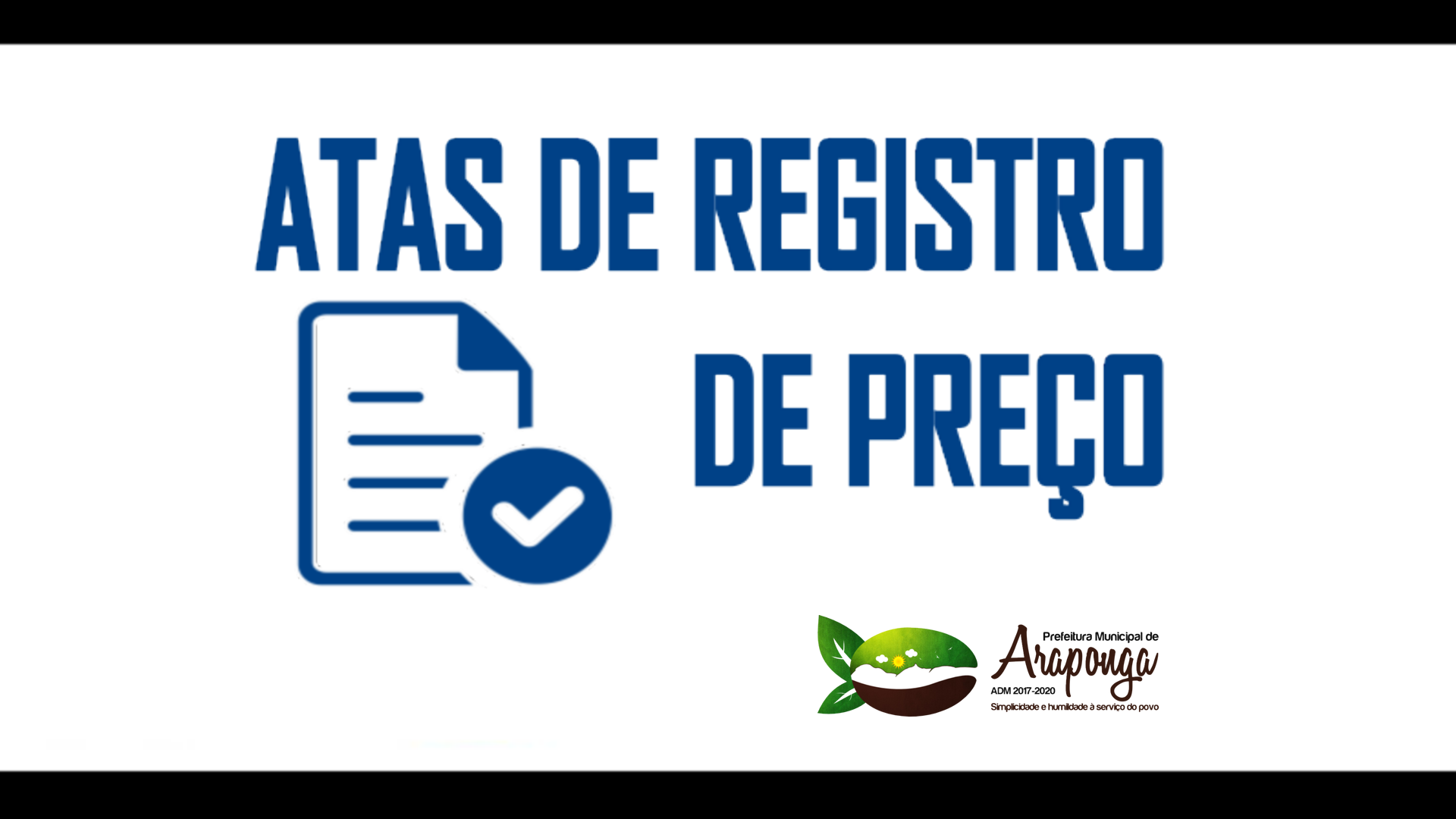 EXTRATO DE ATA DE REGISTRO DE PREÇOS – PROC. 138 | PREG. 037/2019 !!!