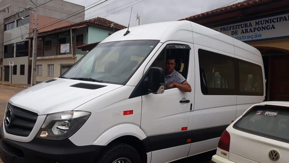PREFEITURA MUNICIPAL DE ARAPONGA ADQUIRI UMA VAN SPRINTER COM RECURSO PRÓPRIO !!!