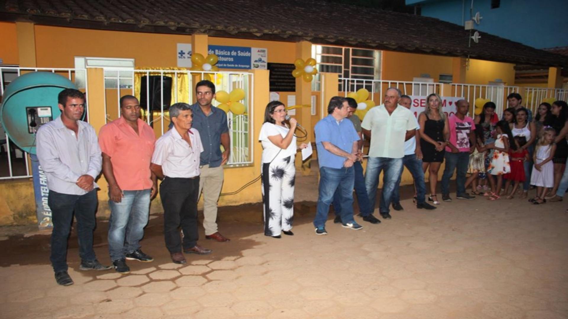 GRANDE CONQUISTA: UBS ESTOUROS É INAUGURADA EM ARAPONGA-MG !!!