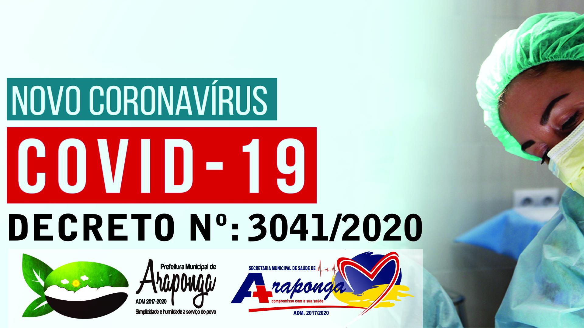 COVID-19: PREFEITURA DE ARAPONGA CRIA DECRETO QUE ESTABELECE BARREIRAS SANITÁRIAS !!!