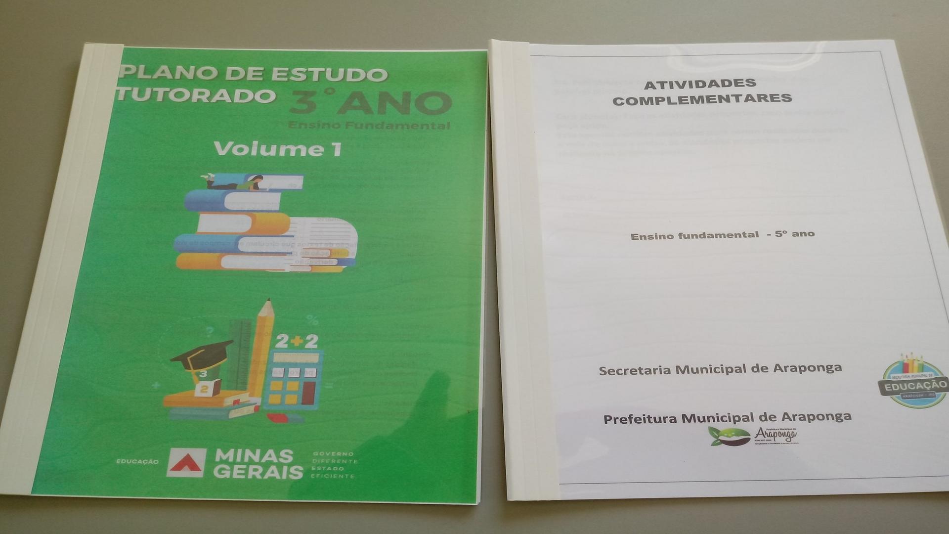 SECRETARIA MUNICIPAL DE EDUCAÇÃO DE ARAPONGA INICIARÁ ENTREGA DE ATIVIDADES PEDAGÓGICAS NÃO PRESENCIAIS !!!