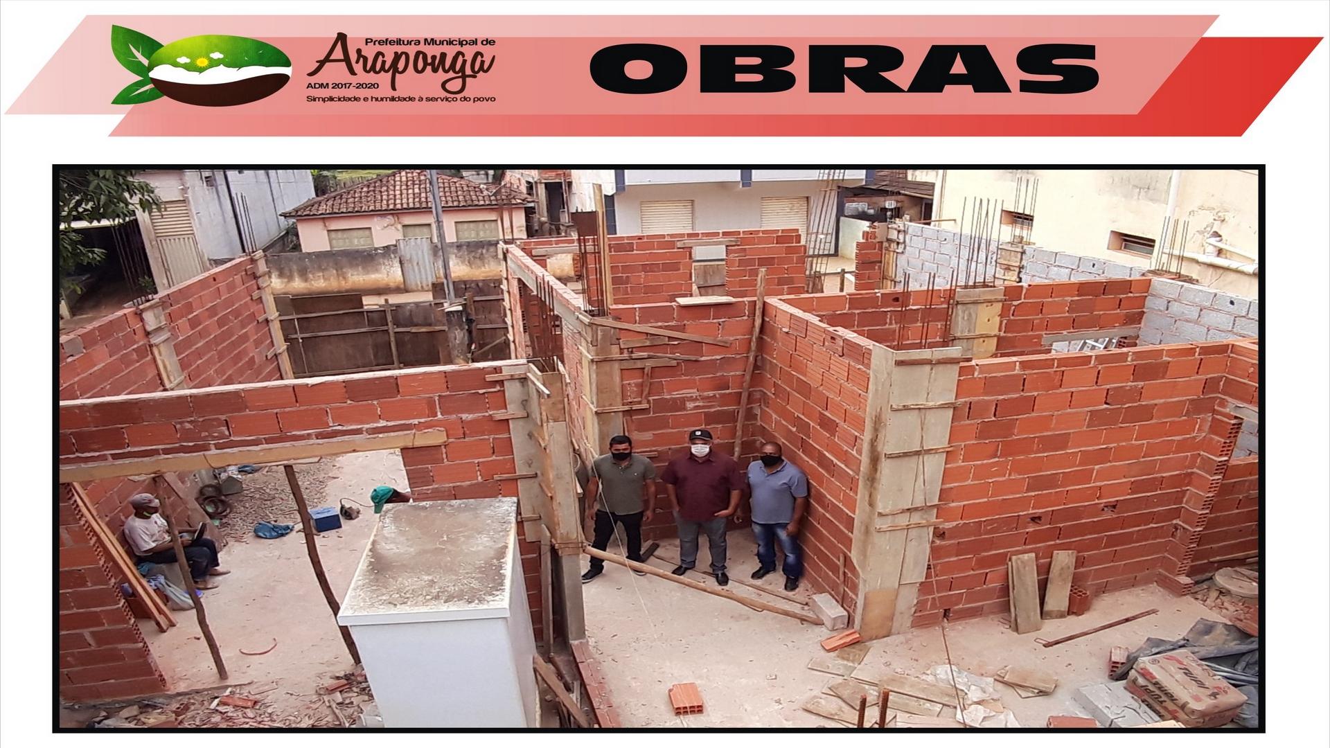 PREFEITURA DE ARAPONGA ESTÁ CONSTRUINDO CAPELA VELÓRIO NO DISTRITO DE ESTEVÃO DE ARAÚJO !!!